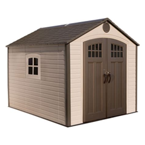 Suncast Cascade Gable Storage Shed by Shop Vinyl Resin Storage Sheds At Lowes