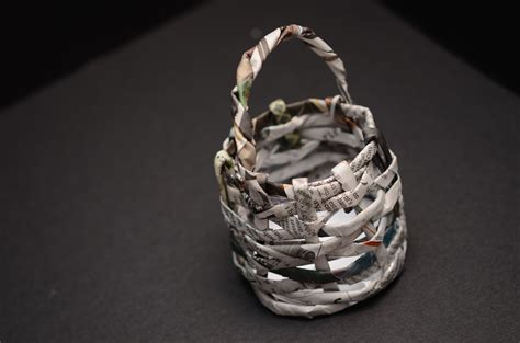 Make A Paper Basket - how to make a paper basket 15 steps with pictures wikihow