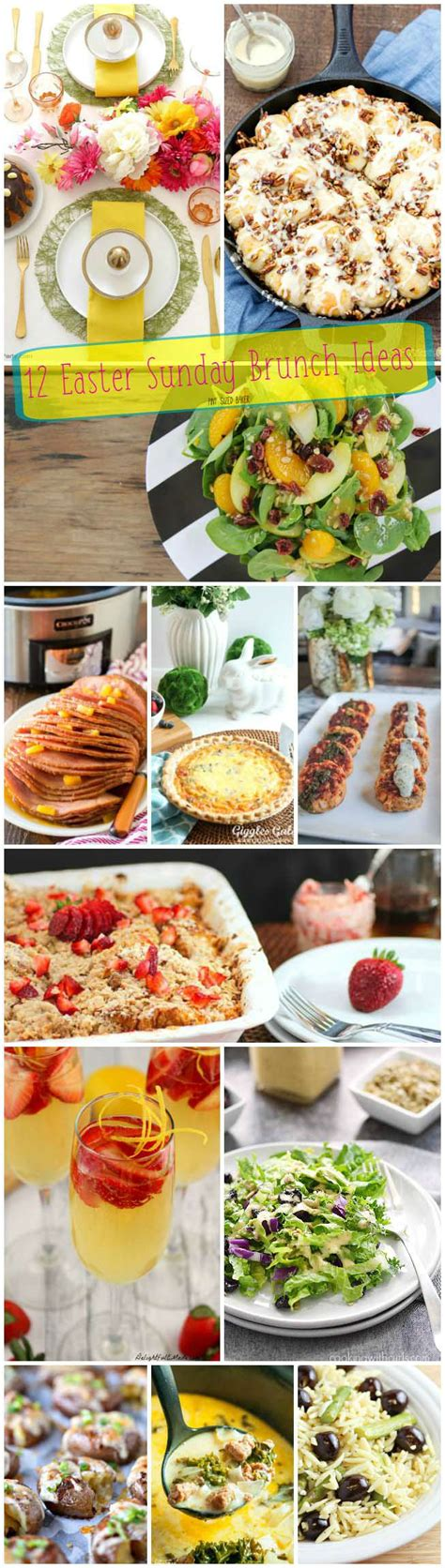 12 Easter Sunday Brunch Ideas Pint Sized Baker Easter Sunday Buffet
