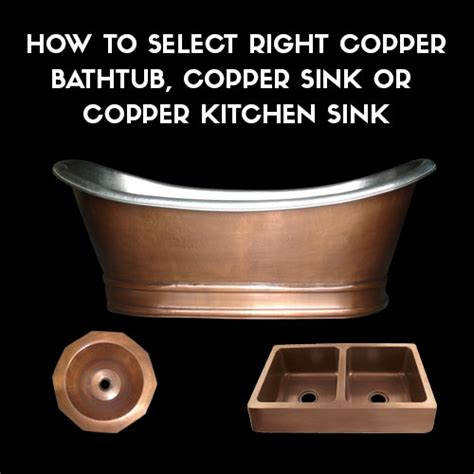 Bathtub Buying Guide by Copper Bathtub Copper Sink Buying Guide Tips To Make A