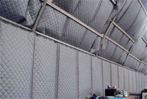 industrial noise control curtains outdoor acoustic blankets industrial noise control