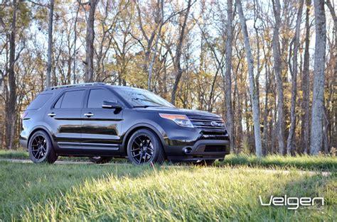 ford explorer 2013 tire size ford explorer custom wheels velgen vmb5 20x10 5 et 45