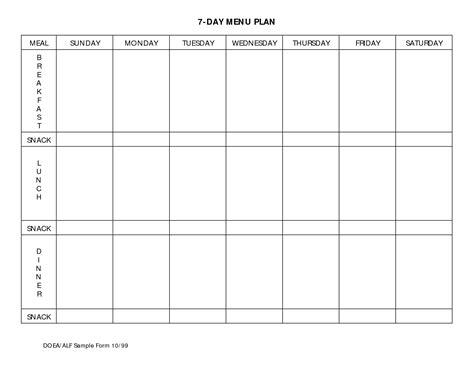 diabetes meal planner template kays makehauk co