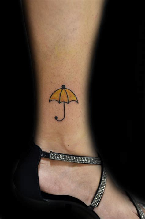 umbrella tattoo yellow umbrella thiago padovani tattoos