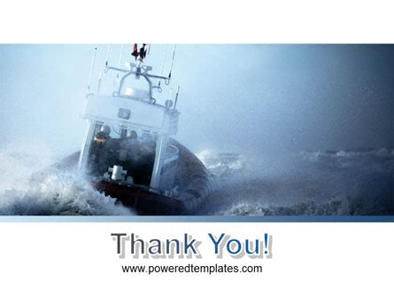 Sea Storm Powerpoint Template Backgrounds 04842 Poweredtemplate Com Hurricane Powerpoint Template Free