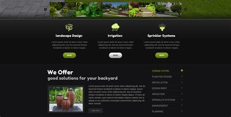 bootstrap themes exclusive landscapes design bootstrap theme template gridgum