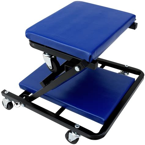workshop creeper board rolling car crawler stool