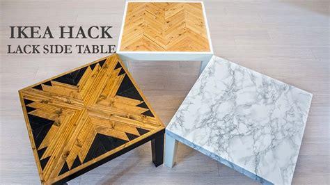 lack side table hack ikea hack lack side table diy