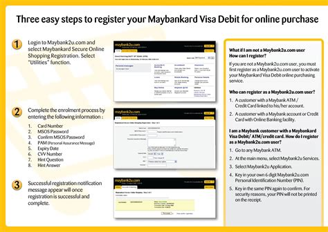 how to make payment from debit card maybankard visa debit e commerce leaflet malcolm