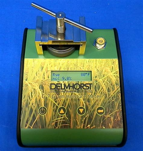 Grain Moisture Meter Usa delmhorst g7 digital grain moisture meter tester