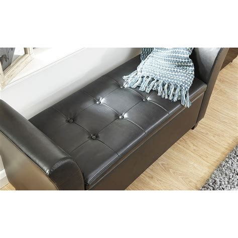 window box seat with storage verona leather window seat ottoman storage box large