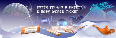 Disneyworld Sweepstakes - disney world ticket sweepstakes by orlandovacation com