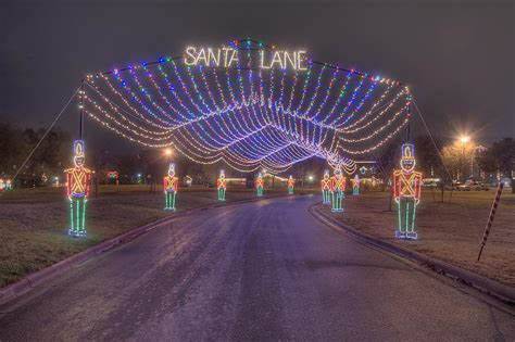 Lights In College Station Photo 818 11 Christmas Light Decoration Quot Santa S Lane Quot In