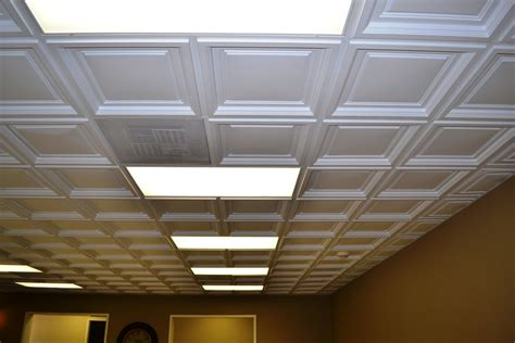 westminster coffered ceiling tile intersource - Ceiling Tiles