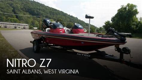 nitro boats for sale in virginia for sale used 2013 nitro z7 in st albans west virginia