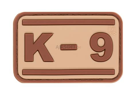 k 9 rubber patch desert jtg rubber patches patches equipment airsoft ch shop