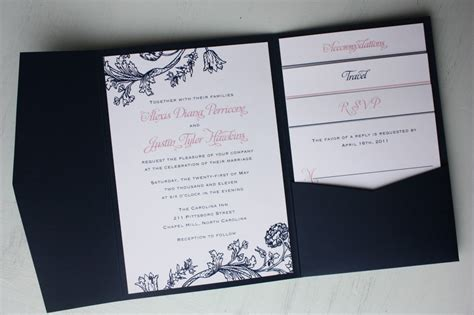 Wedding Invitations Navy by Breathtaking Navy Blue Wedding Invitations Theruntime