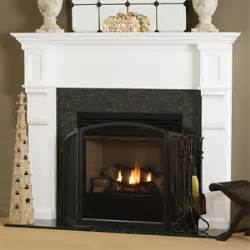 traditional wood fireplace mantel surrounds