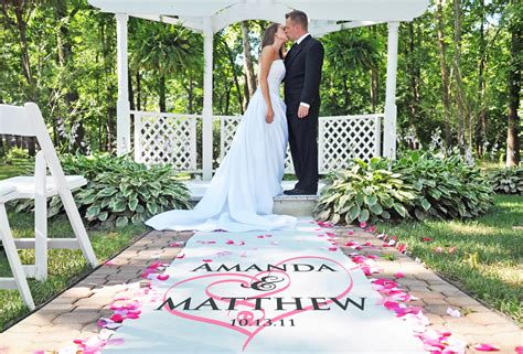 Wedding Aisle Runner Personalized by Wedding Ceremony Ideas The Best Wedding By