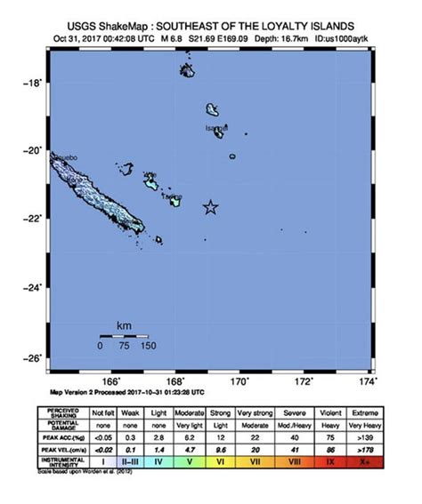 earthquake new caledonia new caledonia earthquake 7 0 magnitude quake hits french