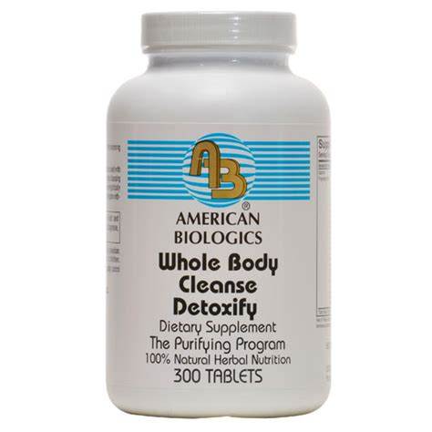 Whole Detox Reviews by American Biologics Ab Whole Cleanse Detoxify 300