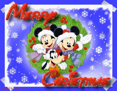 disney merry christmas animated gif 9to5animations com