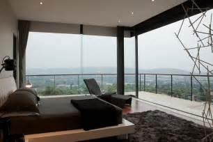 Modern contemporary bedroom glass house design decosee com