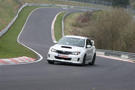 subaru nurburgring 2011 subaru wrx sti 4 door at nurburgring picture 38356