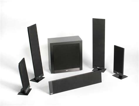 home theater system  flat  wall kef