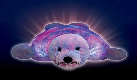 pillow pets seal of divas reviews back to school with glow pets