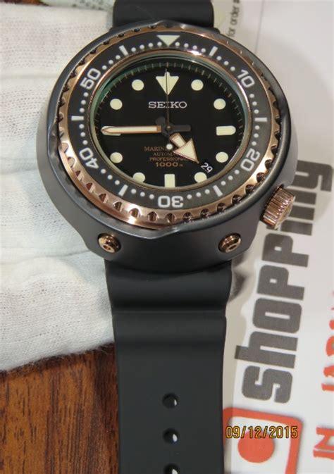 Seiko Prospex Sbdx014 Emperor Tuna Marine Master Pro Automatic Divers seiko emperor tuna gold sbdx014 marinemaster