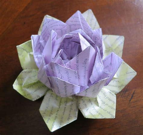 japanese origami flower bhagavad gita origami lotus flower show your own work