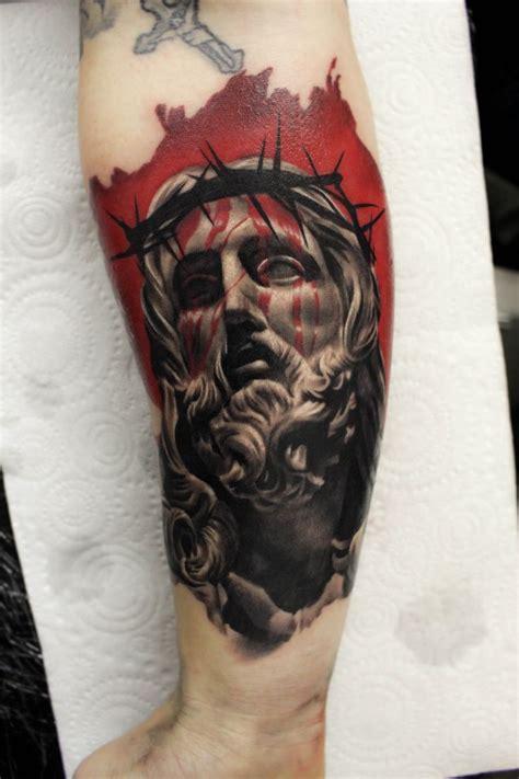 christian tattoo magazine jesus sculpture tattoo tatto pinterest b 237 ceps