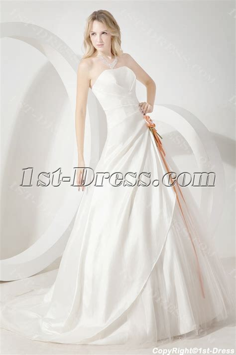 ivory cheap simple bridal gowns 1st dress com