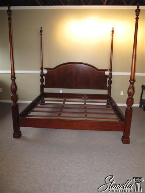 poster beds for sale 15765 king size inlaid mahogany poster bed for sale