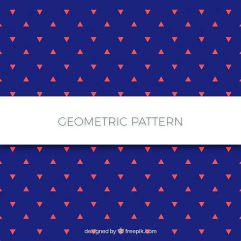 pattern triangle ai seamless triangle pattern vector free download