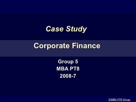 Why Study Mba Finance by Tsingtao Brewery Mba Casestudy