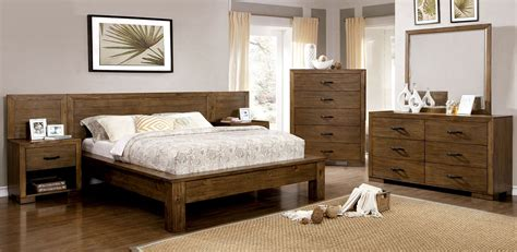 Reclaimed Pine Bedroom Furniture | bairro reclaimed pine wood bedroom set cm7250q furniture
