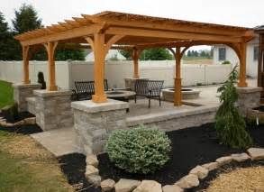 Backyard Grill Gazebo Pergolas And Pavilions The Barn Raiser Quality Amish