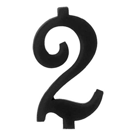 candela nera numero 2 nero h 7 cm magic