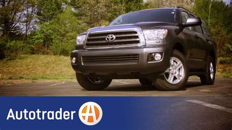 toyota sequoia suv  car review autotrader