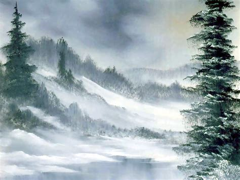 bob ross painting gray taille 1024x768