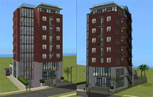 House Plans For Small Lots mod the sims downtown highrise apartments almost no cc