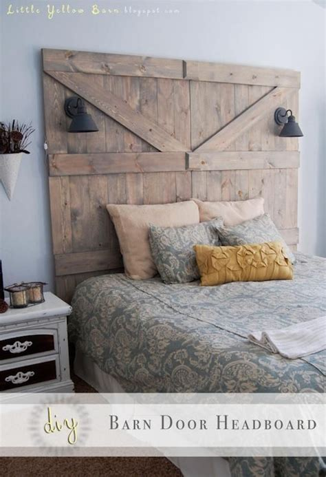 barn door headboard plans 25 best ideas about reclaimed wood headboard on pinterest