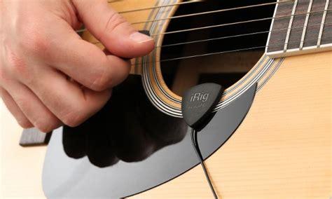 best pre for acoustic guitar irig acoustic il primo microfono per chitarra acustica