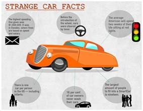 Information About Cars Strange Car Facts Visual Ly