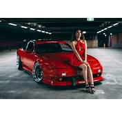 Women Model With Cars Car Vehicle Tuning JDM
