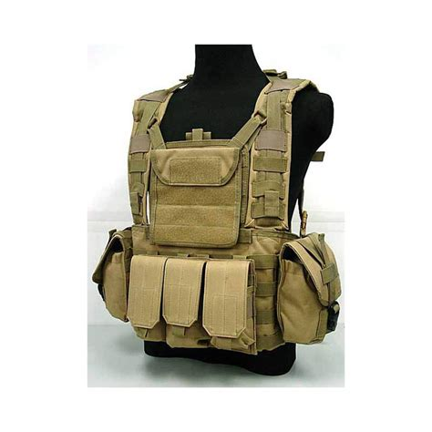 Army Tactical Pouch 01 water pouch vest usmc tactical combat molle rrv