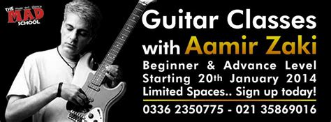 learn guitar karachi mad school music art dance karachi pakistan