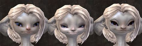 asura guild wars 2 new hairstyles for females gw2 new total makeover kit faces dulfy